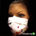 waschbare Mund Nasen Schutzmaske