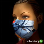 Werbeschutzmaske 3-Schicht inkl.Druck