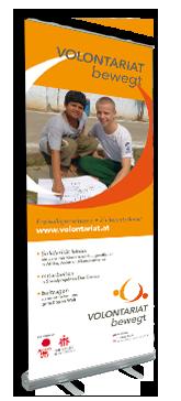 Rollup Digitaldruck vom Profi mit Wertschöpfung in Österreich.