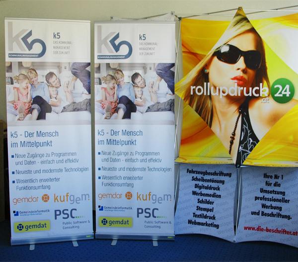 Onlineshop für Rollups - Rollupdruckerei, Rollup-Banner, Rollup-Systeme