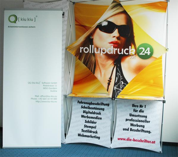 Rollup drucken in Wien